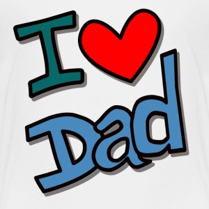 Kindershirt I love dad - Kinder Premium T-Shirt