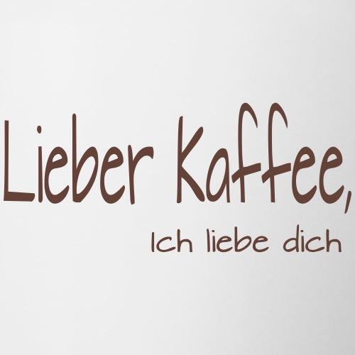 Lieber Kaffee