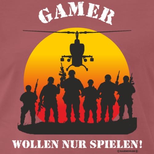 GAD - Gamer Designs Gamer wollen nur spielen - RA