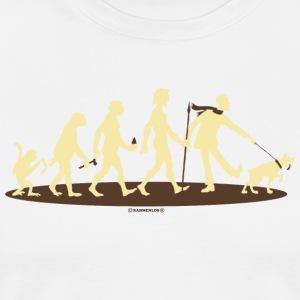 Evolution vom Affen zum Hunde Besitzer - Gassi Le