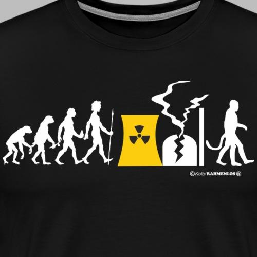 Evolution vom Affen zum ATOM MUTANTEN - Lustiges