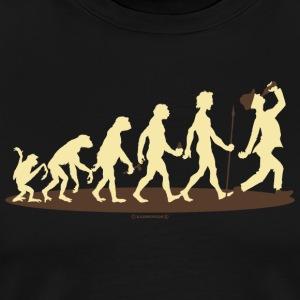 Evolution vom Affen zum Bier Trinker - Profi Alko
