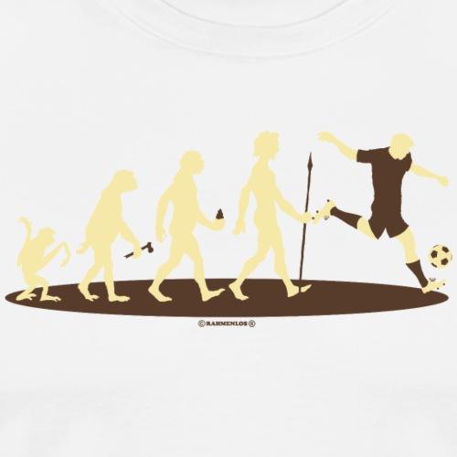 Evolution vom Affen zum Fussballer - Sport Design