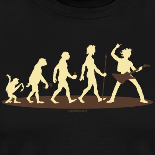 Evolution vom Affen zum Rock Star - E-Gitarre - G