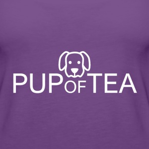 Pup of Tea - Women's Premium Tank Top