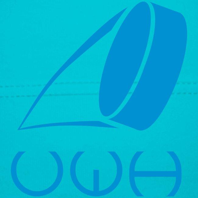 UWH Logo. Baby Jelly-Bag Hat - (LogoBlue - frt/sm)