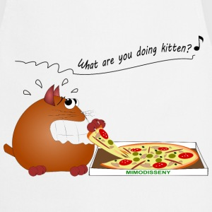 Delantal Cat-pizza - Tablier de cuisine