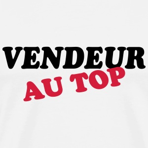 Vendeur au top T-Shirts - Men's Premium T-Shirt