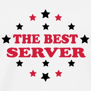 The best server T-Shirts - Men's Premium T-Shirt