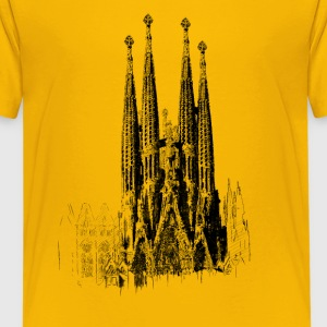 Sagrada Familia T-Shirts - Teenager Premium T-Shirt
