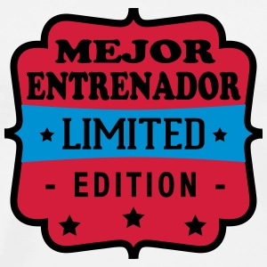 Mejor entrenador limited edition T-Shirts - Men's Premium T-Shirt
