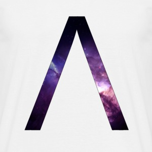 Alpha space letter Tee shirts - T-shirt Homme