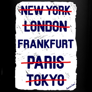 NY London Frankfurt..., Francisco Evans ™ Tazas y accesorios - Taza de un color