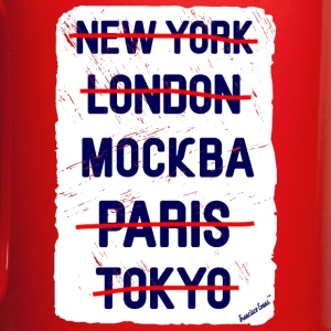 NY London Москва..., Francisco Evans ™ Mugs & Drinkware - Full Colour Mug