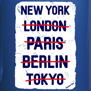 NY London New York..., Francisco Evans ™ Mugs & Drinkware - Full Colour Mug