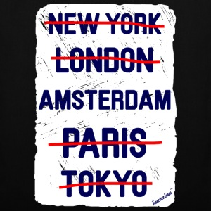 NY London Amsterdam..., Francisco Evans ™ Bags & Backpacks - Tote Bag