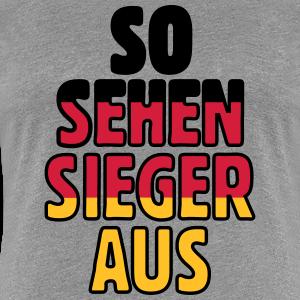 So sehen Sieger aus Deutschland aus (dreifarbig)