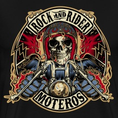 Rock And Rider Moteros Skull Color
