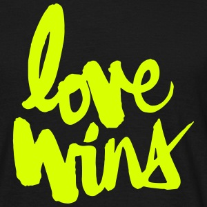 Love Wins T-Shirts - Men's T-Shirt