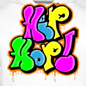 hiphop graff Sweat-shirts - Sweat-shirt à capuche Premium pour hommes