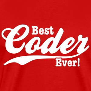 coder T-Shirts - Men's Premium T-Shirt