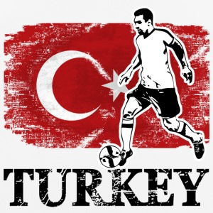 Soccer - Fußball - Turkey Flag T-Shirts - Men's Breathable T-Shirt