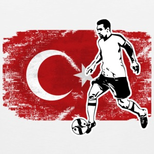 Soccer - Fußball - Turkey Flag Sports wear - Men's Premium Tank Top