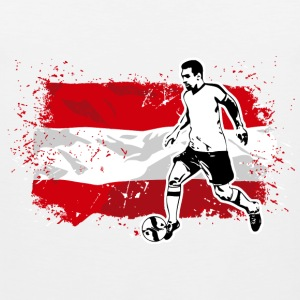 Soccer - Fußball - Austria Flag Sports wear - Men's Premium Tank Top