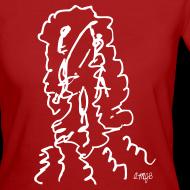 Motif ~ Visages AMJB T-shirt femme bio