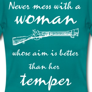 Woman's temper - Frauen T-Shirt