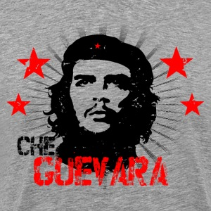 Che Guevara Distressed Men T-Shirt - Herre premium T-shirt