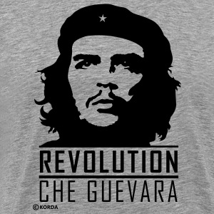 Che Guevara Revolution Flex 2 Men T-Shirt - Herre premium T-shirt