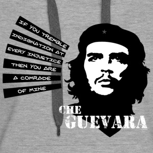 Che Guevara If you tremble with Indignation Wome - Premium hettegenser for kvinner