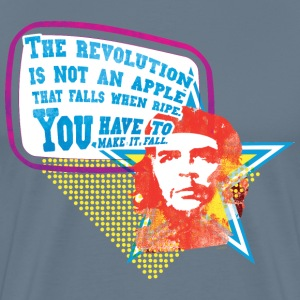 Che Guevara Men T-Shirt The Revolution is not an  - Men's Premium T-Shirt