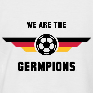 We Are The Germpions! (Fußball Deutschland) Shirt - Männer Baseball-T-Shirt