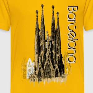 Barcelona Shirts - Teenage Premium T-Shirt