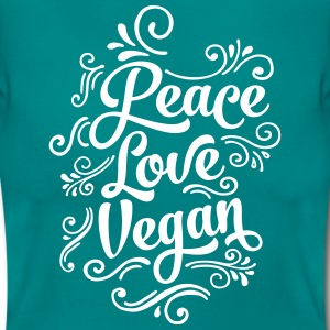 Peace - Love - Vegan T-Shirts - Women's T-Shirt