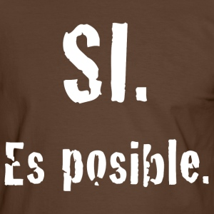 SI es posible Tee shirts - T-shirt contraste Homme