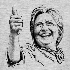 Hillary Clinton T-Shirts - Men's T-Shirt