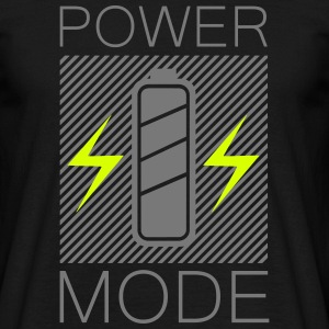 Power Mode Electro Techno Trance House Energie T-Shirts - Männer T-Shirt