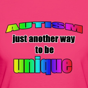 Autism-Unique - Frauen Bio-T-Shirt