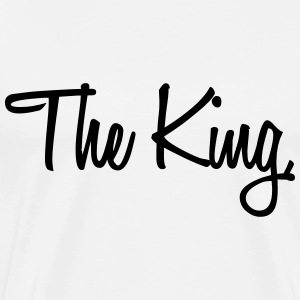 The King T-shirts - Herre premium T-shirt