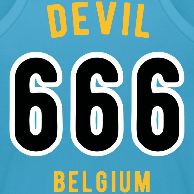 Devil 666 Player Team Belgium