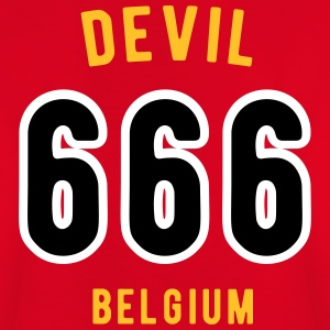 Devil 666 Team Belgium - Kinderen T-shirt