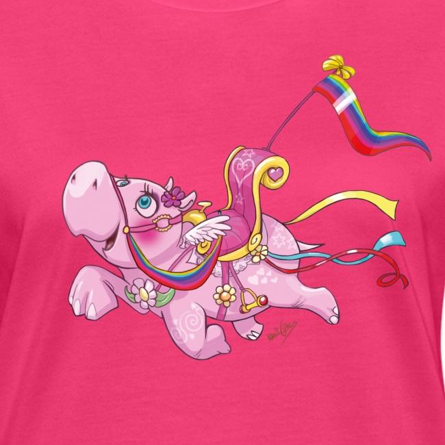 Hippo Ladies T-Shirt