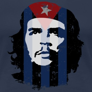 Che Guevara Women T-Shirt Cuba Flag - Women's Premium T-Shirt