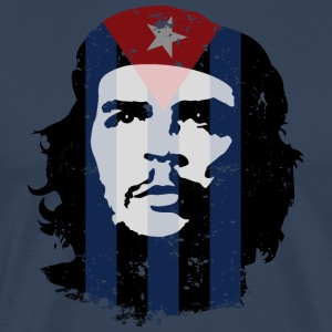 Che Guevara Men T-Shirt Cuba Flag - Men's Premium T-Shirt