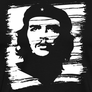 Che Guevara Men T-Shirt Painted - Premium-T-shirt herr