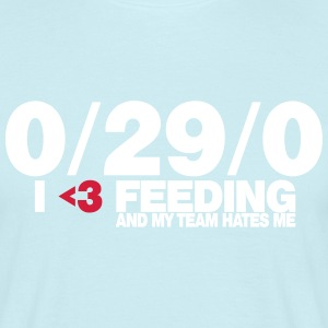 I love feeding - Männer T-Shirt
