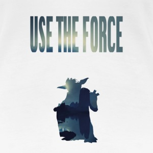 USE THE FORCE - Frauen Premium T-Shirt